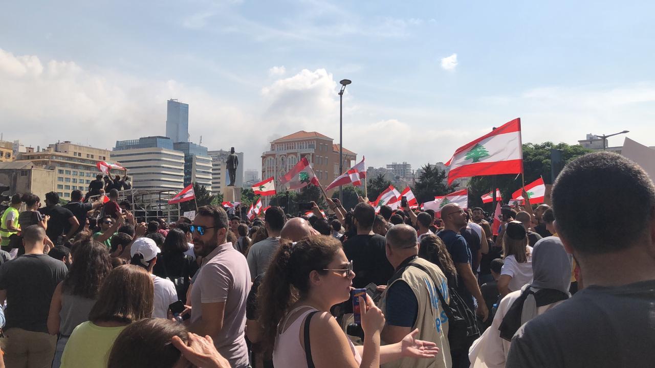 Het Libanese volk geeft niet op!
