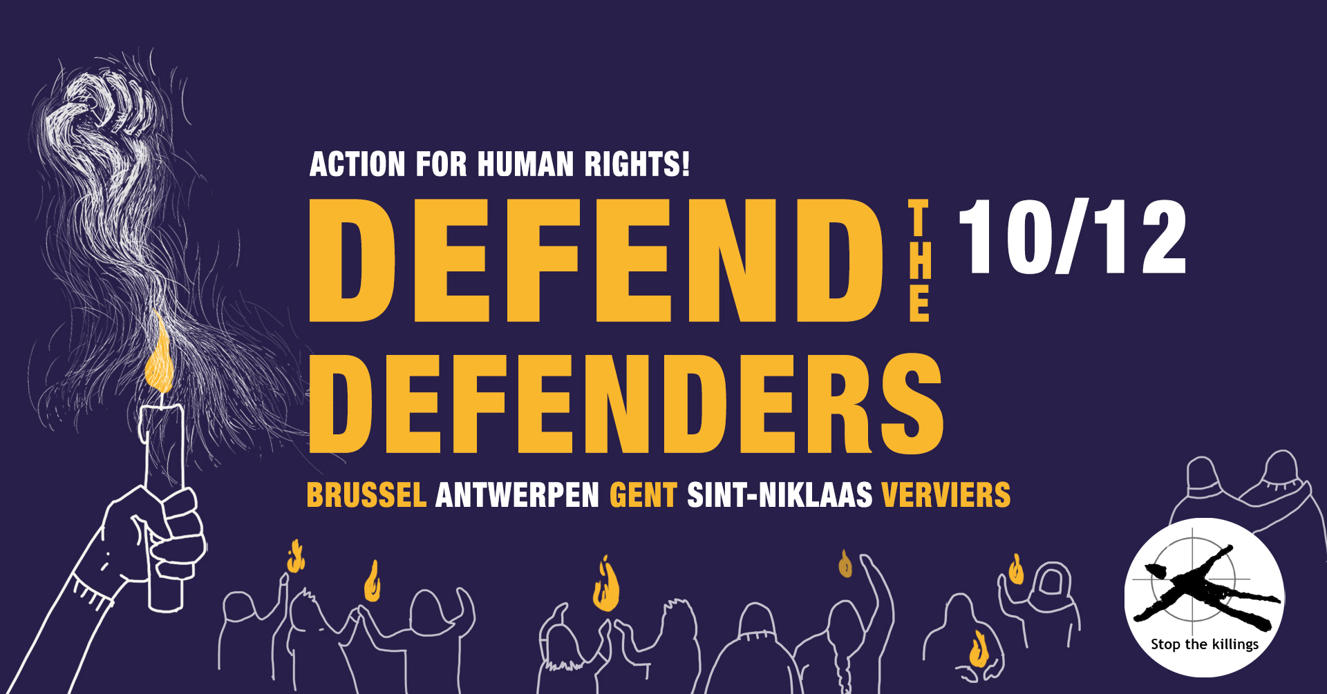 STATEMENT: Defend the Defenders au Chili!