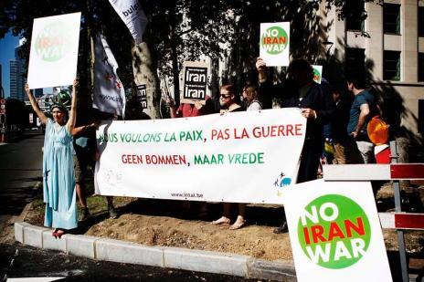 Rassemblement: Pas de guerre contre l'Iran