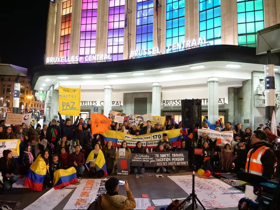 7 raisons qui expliquent l'historique de la grève nationale en Colombie