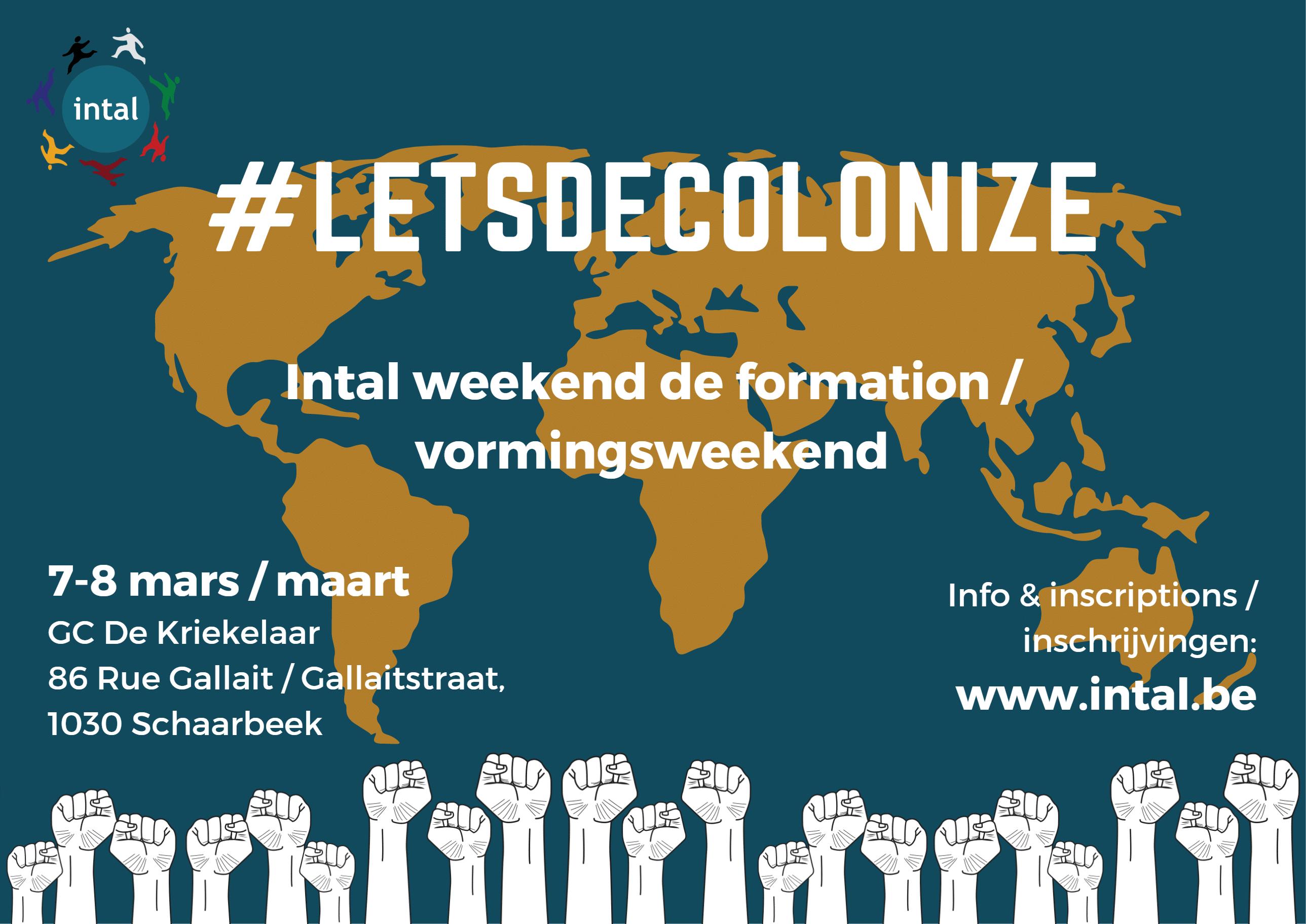 Vormingsweekend #letsdecolonize
