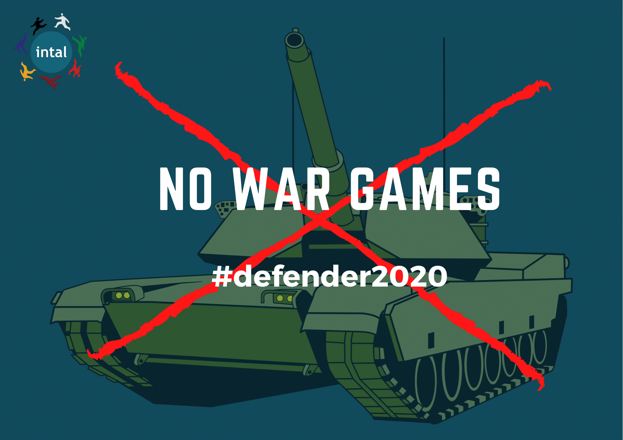 Defender2020 : Geen Belgische deelname aan de oorlogsspelletjes van de NAVO