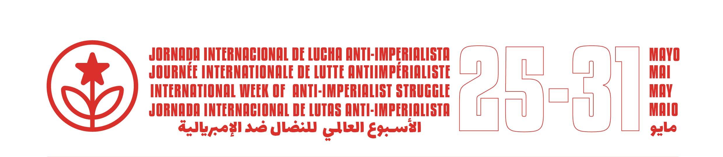 Journée internationale de la lutte anti-impérialiste (25-31 mai 2020)