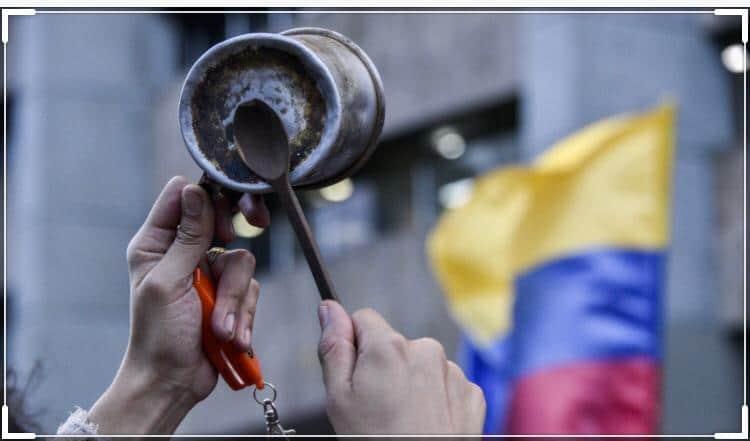 La lutte sociale au-dela du COVID-19 en Colombie
