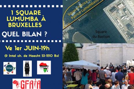 La Place Lumumba est le résultat de nombreuses luttes contre le néocolonialisme