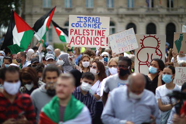 Rassemblement contre l'annexion : un succès pour la solidarité et la justice!