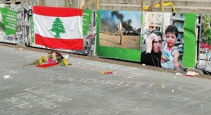 Onze gedachten zijn bij Beiroet