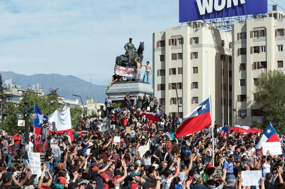 #ChileDesperto #Venceremos #plazadeladignidad