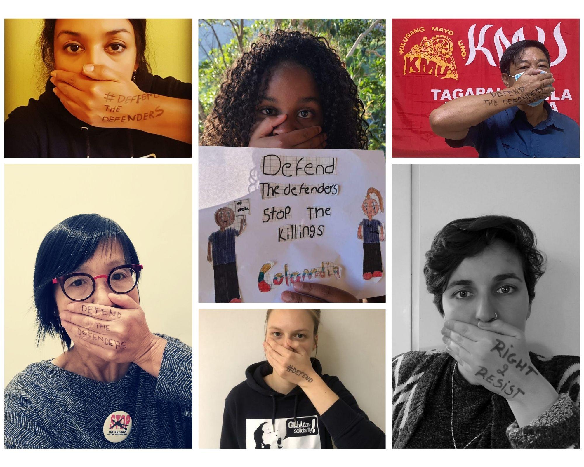 Carta abierta 10/12 : Defender a los defensores
