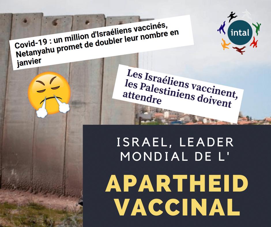 Pétition Covid-19 en Israël et Palestine : non à l'apartheid sanitaire