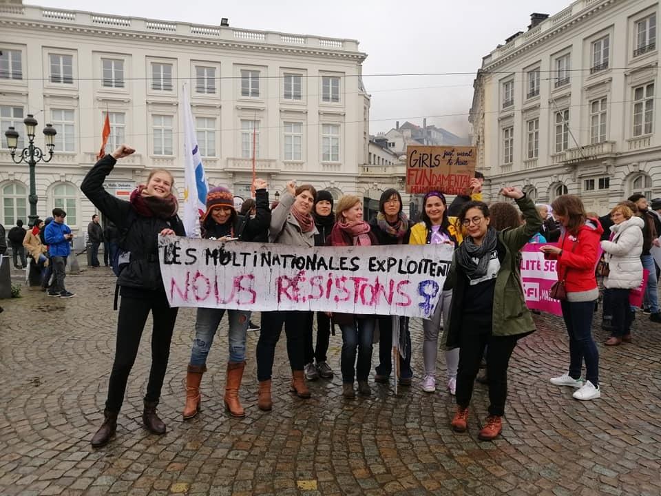 Nous sommes la génération des femmes du 21 ième siècle. Pour une Europe solidaire et anti-impérialiste