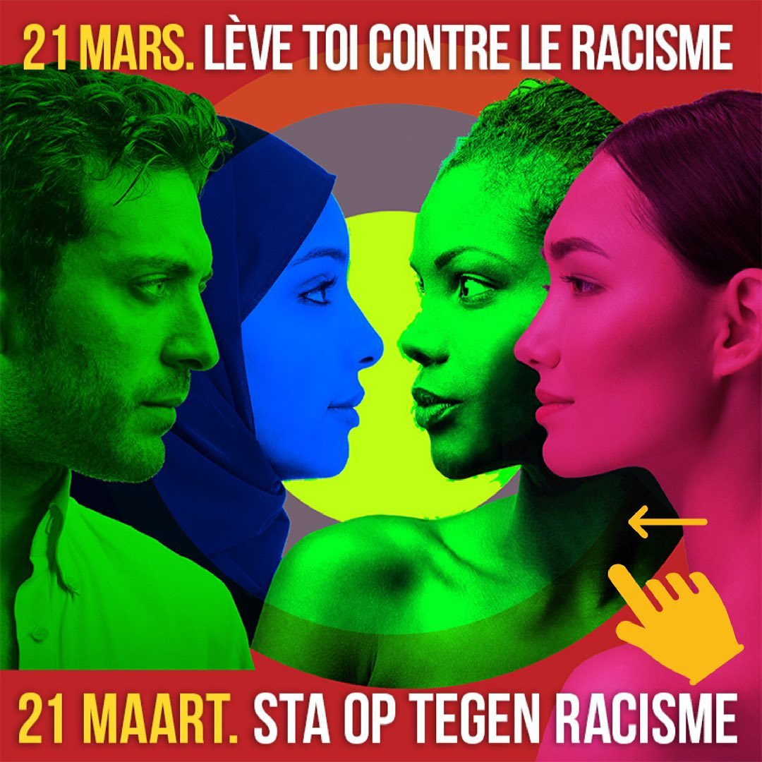 21 maart – Racisme verslaan we door solidariteit