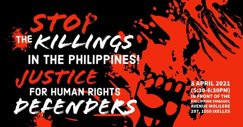 Halte aux assassinats aux Philippines