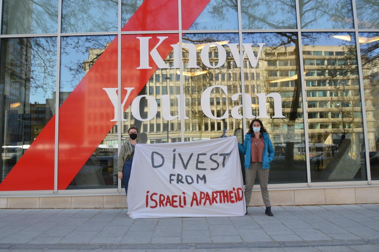 intal dénonce les liens entre AXA et l'apartheid israélien