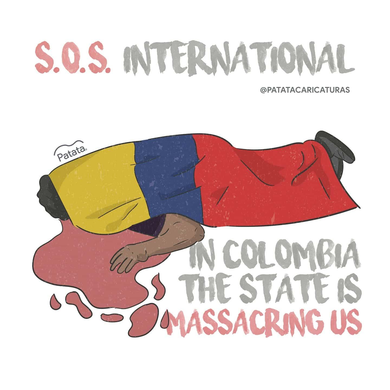 Organisations et syndicats belges dénoncent la répression du mouvement social en Colombie