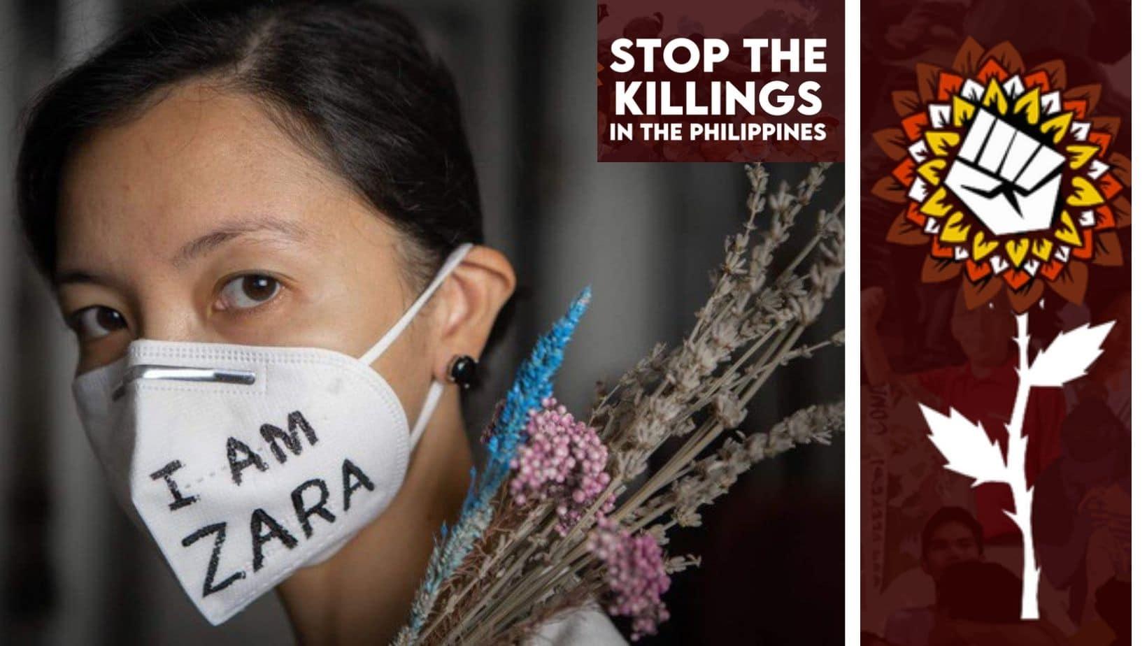 Attaquez Duterte en justice pour ses crimes contre le peuple philippin!