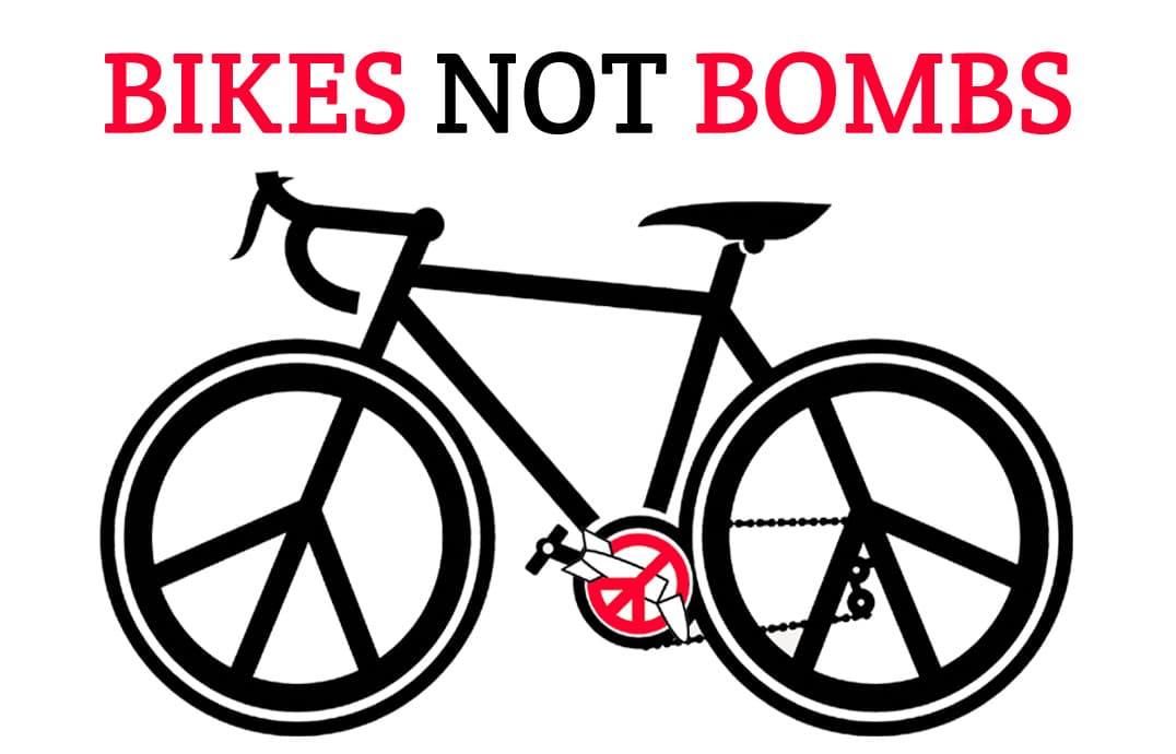 Dimanche 26 septembre : Bikes Not Bombs – Action contre les armes nucléaires